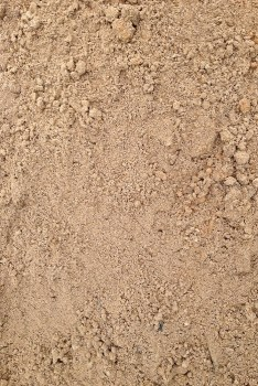 Sand enriched with small